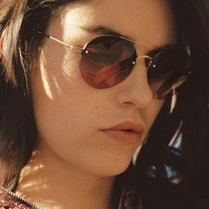 Garrett Leight BEAUMONT SUN glasses - Rose Gold-Do